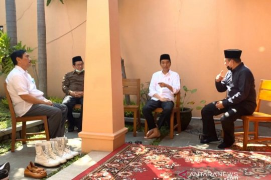 Bamsoet melayat almarhum Ibunda Presiden Jokowi