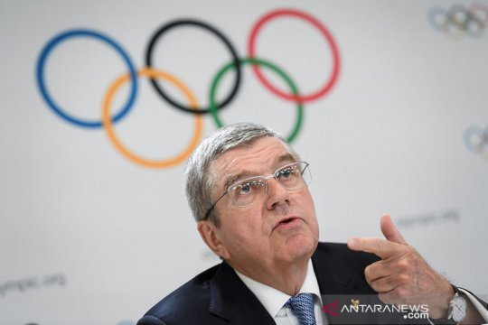 Ketua IOC konsultasi dengan anggota terkait dampak pandemi