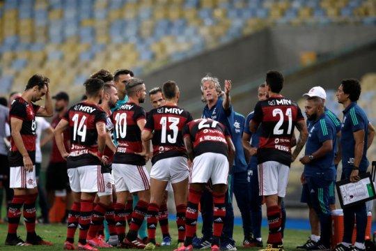 Tiga pemain Flamengo positif terjangkit COVID-19
