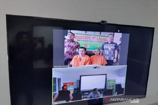 Kejaksaan Pekanbaru terima pelimpahan berkas perkara secara virtual