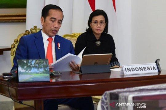 "Presiden Jokowi ajak G20 ""perangi"" COVID-19 dan perlambatan ekonomi"