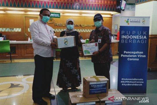Pupuk Indonesia salurkan bantuan APD untuk RS Cengkareng