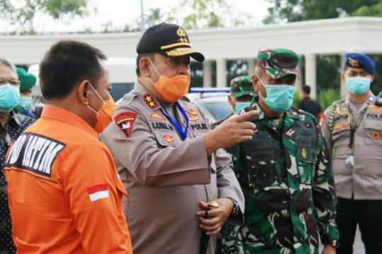 """Forkopimda Jatim tinjau """"physical distancing"""" di perumahan Surabaya"""