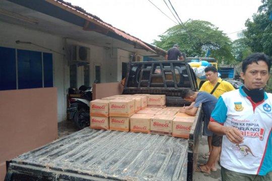 Papua salurkan bantuan makanan ke panti asuhan cegah dampak COVID-19