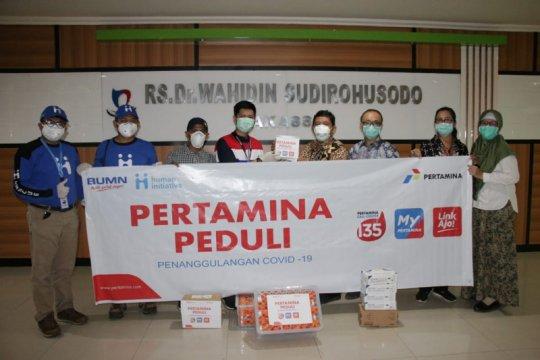 Pertamina bantu nutrisi makanan tenaga medis COVID-19 di Makassar