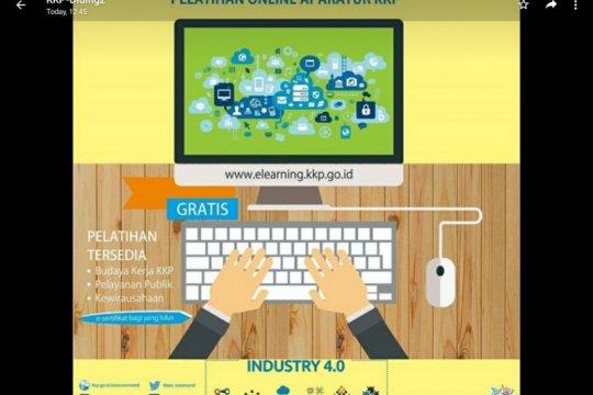 KKP tingkatkan kompetensi ASN melalui pembelajaran daring e-Milea