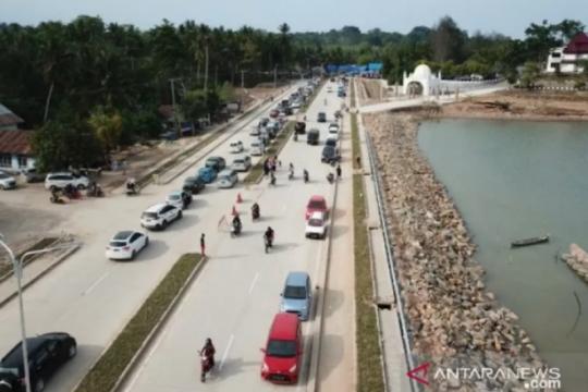 Tahap dua pembangunan Jalan wisata Toronipa-Kendari selesai lelang