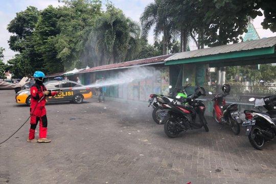 Kampung Tangguh Bencana di Yogyakarta dilatih membuat disinfektan