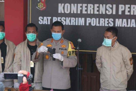 Polres Majalengka tangkap enam pencuri bermodus polisi