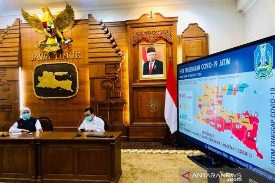 Gubernur Jatim: Daerah terjangkit COVID-19 bertambah empat kabupaten