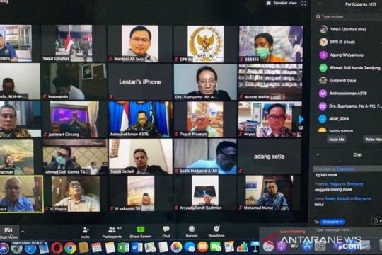 Komisi II DPR gelar rapat virtual dengan KPU RI terkait Pilkada 2020