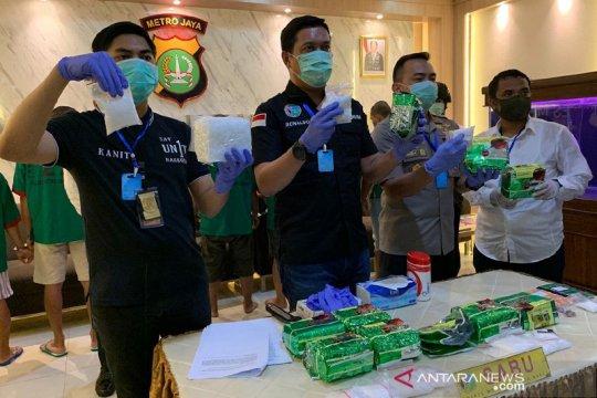 Polisi gagalkan peredaran 11 kilogram sabu di tengah pandemi COVID-19