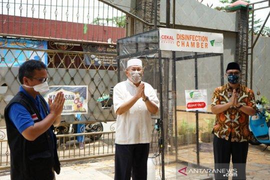 Dompet Dhuafa: Antiseptik dalam bilik sterilisasinya aman bagi manusia