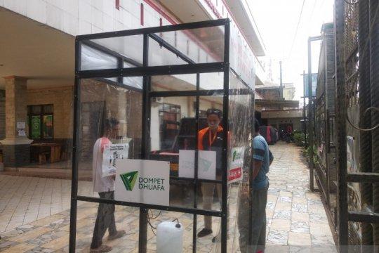 Dompet Dhuafa prioritaskan kebutuhan bilik sterilisasi dalam negeri