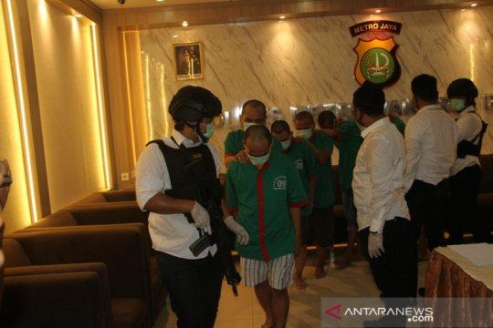 Polisi buru warga Malaysia pengendali peredaran 11 kilogram sabu