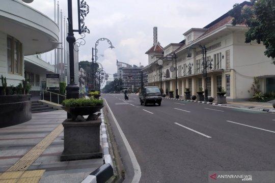Polisi tutup jalan di Bandung jika berpotensi jadi ramai