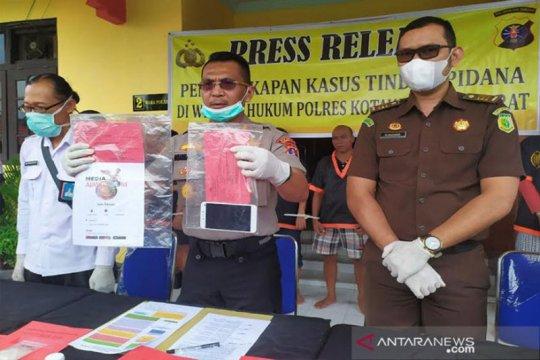 Oknum wartawan di Kotawaringin Barat ditangkap, tuding KPC buat bom