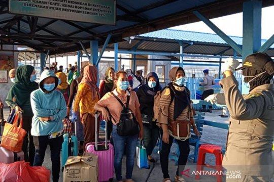 Jumlah ODP di Riau tembus 10.000 seiring pulangnya TKI dari Malaysia