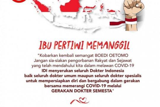 IDI serukan seluruh dokter bersiap tangani pasien COVID-19