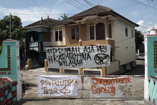 Pemberlakuan satu pintu masuk perkampungan di Yogyakarta