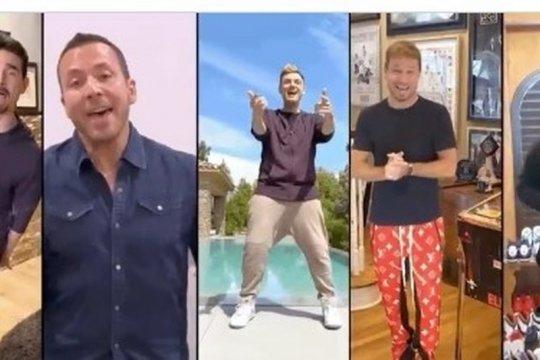 """Backstreet Boys reunian di lagu """"I Want It That Way"""" dari 5 lokasi"""