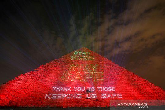 Pesan melawan COVID-19 dari piramida Mesir