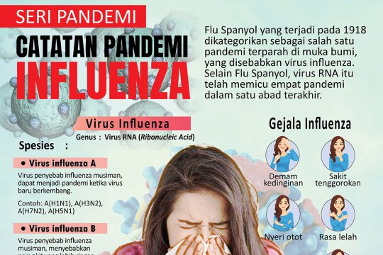 Catatan pandemi influenza