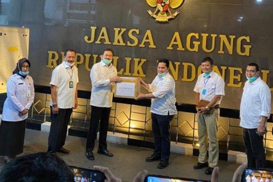 Menteri BUMN serahkan bantuan APD untuk RSU Adhyaksa Jakarta