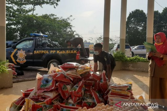 Pandemi COVID-19, Kemenag Riau salurkan paket sembako bagi mustahik