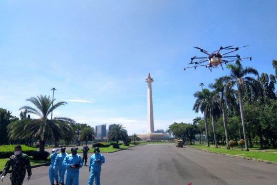 PMI Jakarta Pusat siapkan drone disinfektan untuk pemukimanan padat