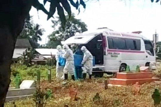 Mantan anggota DPRD Sulsel meninggal diduga positif
