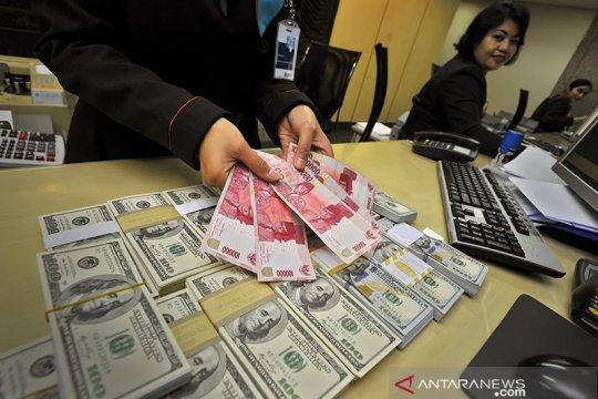 Rupiah akhir pekan melemah di tengah penguatan mata uang kawasan