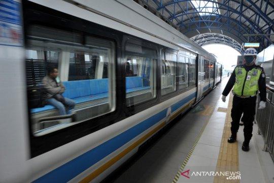 Penumpang LRT Sumsel turun drastis dihantam COVID-19