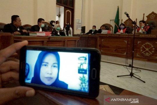 Sidang perdana kasus pembunuhan hakim PN Medan