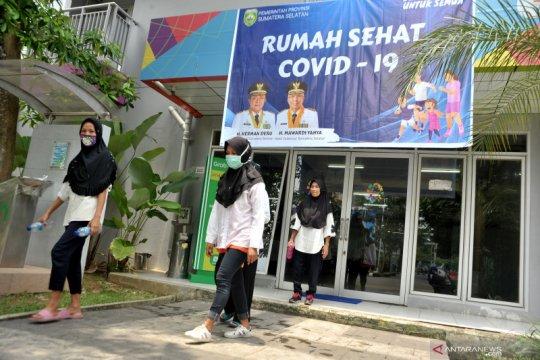 56 TKI jalani karantina di Wisma Atlet Jakabaring Palembang