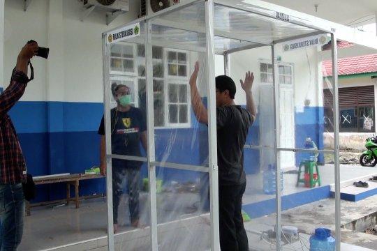 Ada bilik disinfektan otomatis buatan mahasiswa Kalimantan