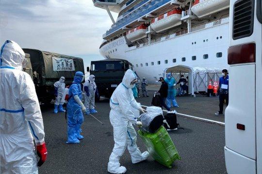 Kemenkes: WNI ABK telah jalani observasi 14 hari di Kapal Pesiar Diamond Princess