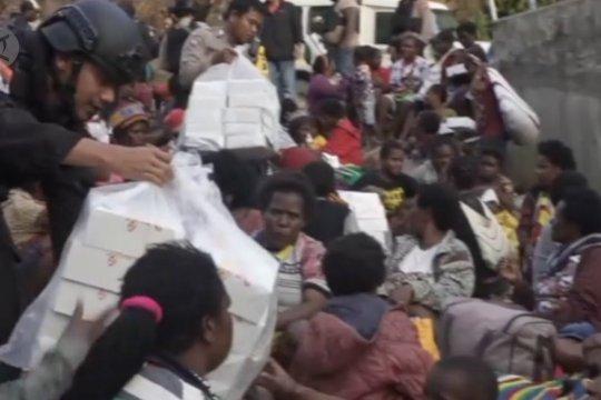 Diteror KKB ,800 warga Tembagapura mengungsi ke Timika