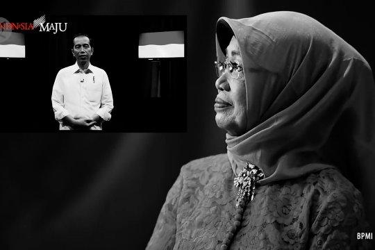 Jokowi: Saat usaha bangkrut, senyuman ibu kuatkan saya