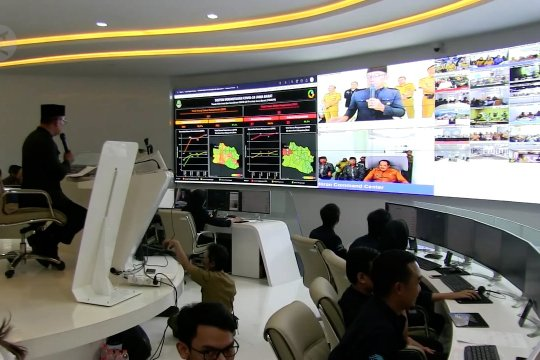 """Pantau COVID-19, Jabar dorong berdirinya """"Command Centre"""" tiap Kab/Kota"""