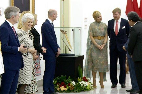 Raja Belanda kembalikan keris Pangeran Diponegoro ke Presiden Jokowi