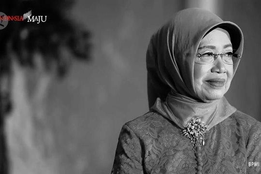 Suasana rumah duka ibunda Jokowi