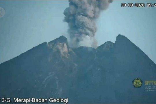 Gunung Merapi berangsur normal
