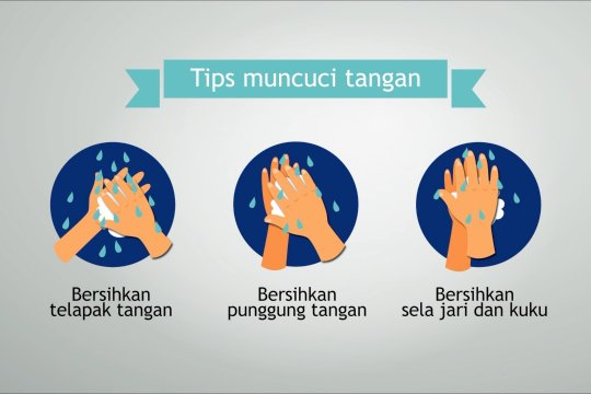 Cuci tangan menggunakan sabun solusi terbaik membasmi COVID-19