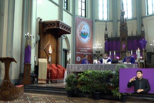 Gereja Katedral Jakarta lakukan  ibadah Pra Paskah secara daring