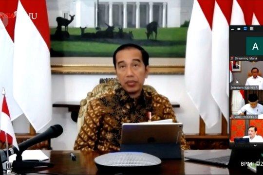Jokowi: Kebijakan karantina wilayah wewenang Pemerintah Pusat