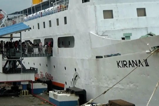 Jumlah penumpang di Pelabuhan Merak alami penurunan
