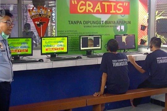 Kunjungan Rutan Temanggung diganti dengan video call