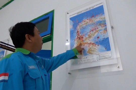 Selama 12 jam, dua Kabupaten di Sulteng diguncang 42 kali gempa