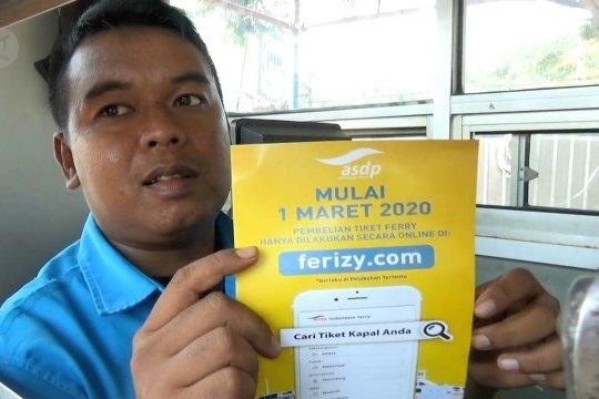 Tiket penyeberangan Pelabuhan Merak sudah dijual online